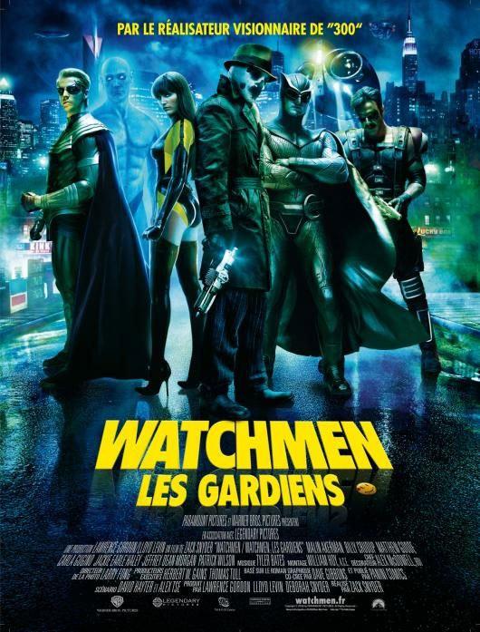 Imagen cabecera de entrada: Nuevo póster para Francia de Watchmen