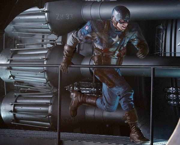 Imágen oficial de Captain America: The First Avenger