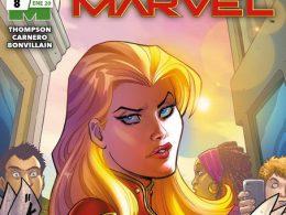Imagen cabecera de entrada: [Reseñas] Capitana Marvel, núm. 8