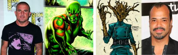 Dominic Purcell y Jefffrey Wright rumoreados como Drax y Groot en Guardians of the Galaxy