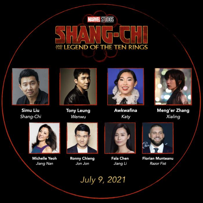 Reparto oficial de Shang-Chi and the Legend of the Ten Rings