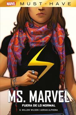 Imagen portada del cómic Marvel Must-Have. Ms. Marvel: Fuera de lo normal