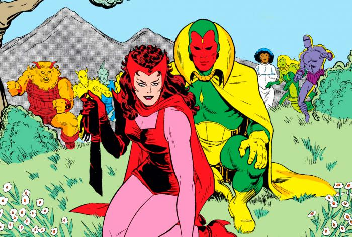 Imagen portada del cómic Vision and the Scarlet Witch (1985) #3