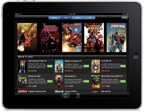 Marvel ipad