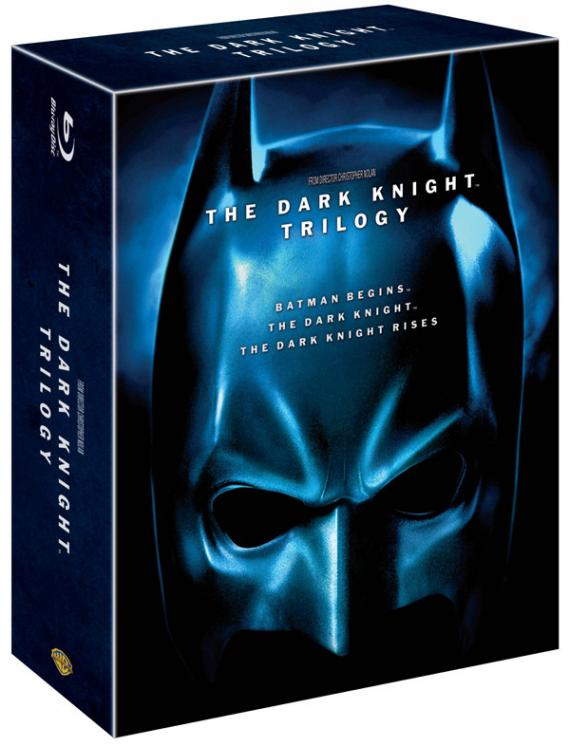 Trilogía de Batman de Chris Nolan en Blu-ray