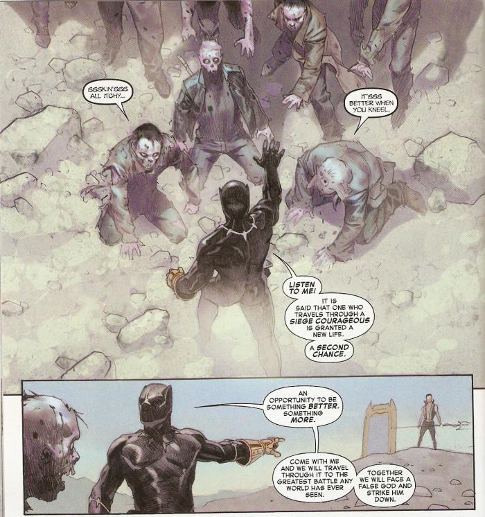 Imagen del evento Secret Wars de Marvel Comics de 2015