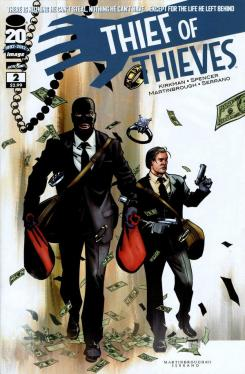Portada del cómic Thief of Thieves #2