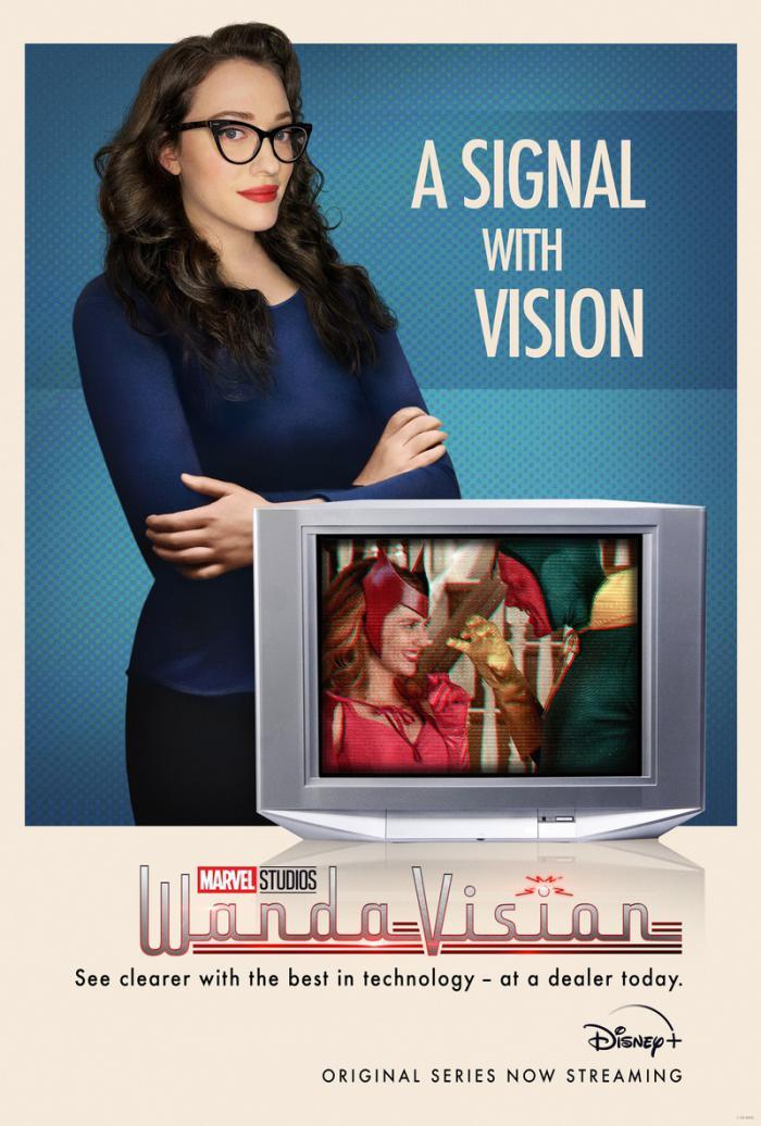 Poster de la primera temporada de WandaVision (2021)