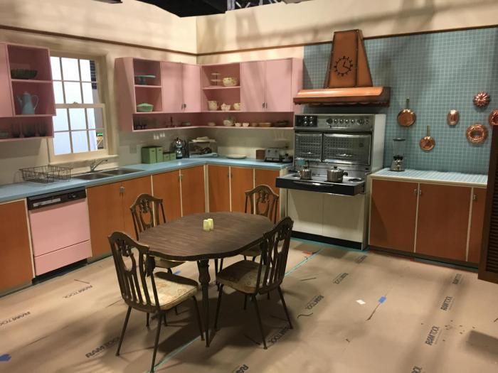 Imagen del set de rodaje de WandaVision 1x03