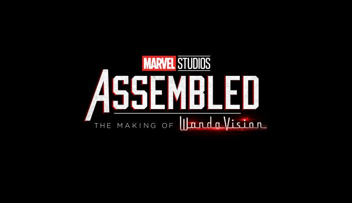 Logo oficial de la docuserie Assembled: The Making of WandaVision