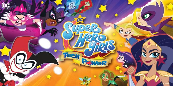 Imagen promocional DC Super Hero Girls: Teen Power (2020)