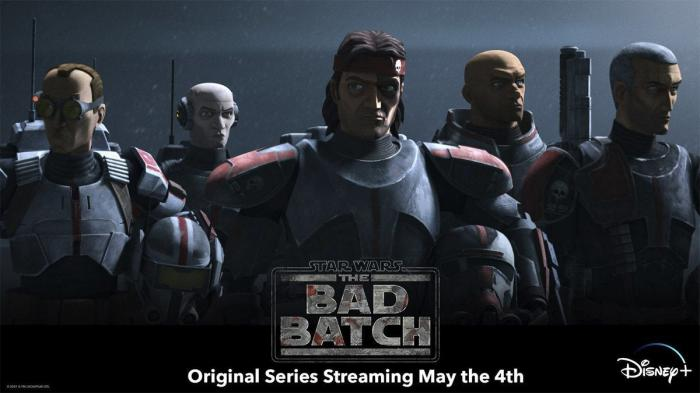 Star Wars: The Bad Batch Promotional Banner