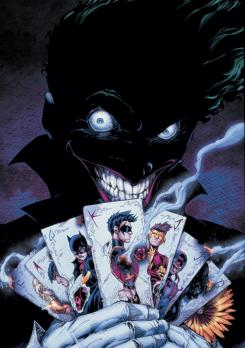 Portada del cómic Teen Titans #15 (diciembre de 2012)