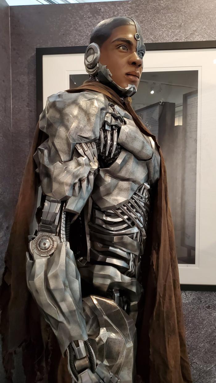 Exposición la Liga de la Justicia de Zack Snyder: Cyborg en la secuencia de Nightmare/Pesadilla