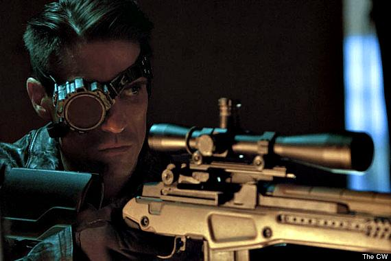 El actor Floyd Lawton como Deadshot en Arrow