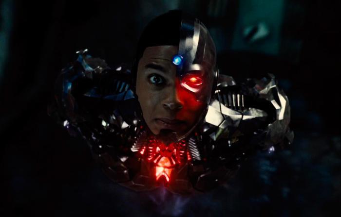 Imagen de Cyborg en La Liga de la Justicia de Zack Snyder (2021)