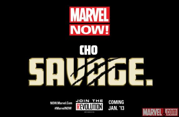 Teaser Marvel Now! Savage