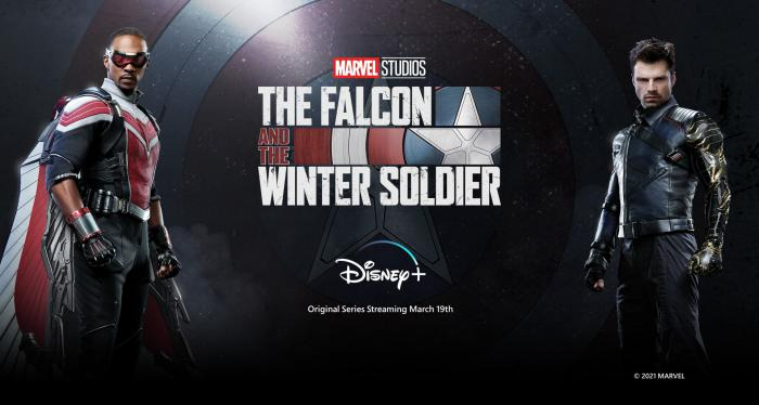 Banner promocional de The Falcon and the Winter Soldier (2021)