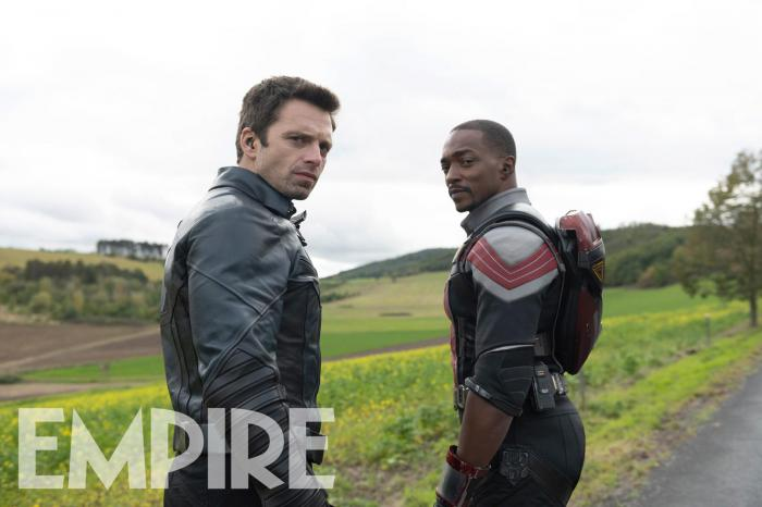 Imagen de Falcon & Winter Soldier (2021) de la revista Empire