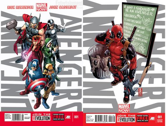 Uncanny Avengers 1&Alternativa