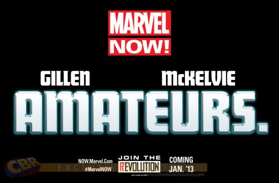 Teaser Marvel Now! Amateurs