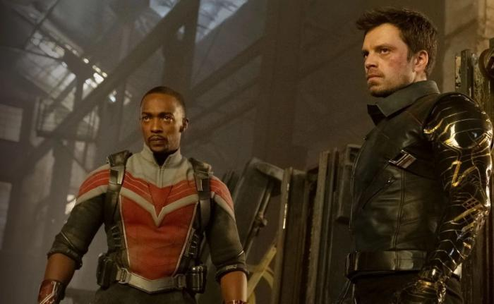 Image from the first season of Falcon & Winter Soldier (2021)