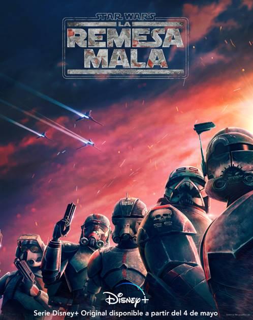 Póster para España de Star Wars: The Bad Batch (2021)