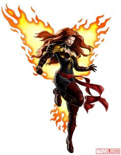 Marvel Avengers Alliance: Phoenix Five Jean Grey