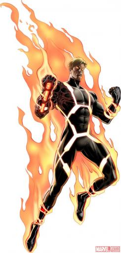 Marvel Avengers Alliance: Annihilus Human Torch