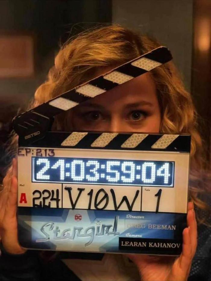 Image from the filming set of the second season of Stargirl