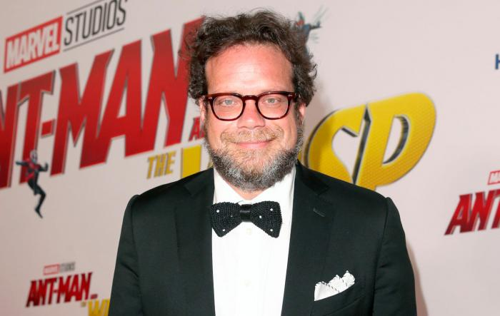 Image of the composer Christophe Beck at the premiere of Ant-Man and the Wasp (2018)