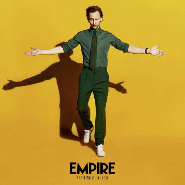 Imagen de Tom Hiddleston para Empire para promocionar de Loki