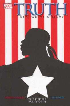 Imagen portada del cómic Truth: Red, White & Black #1, debut de Isaiah Bradley