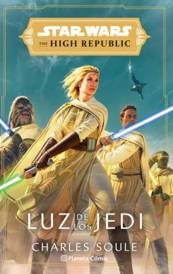 Star Wars The High Republic Book Cover: Light of the Jedi
