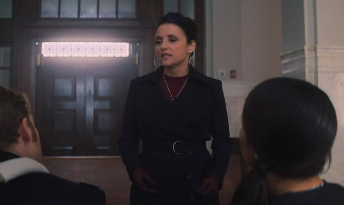 Imagen de la Condesa Valentina Allegra de Fontaine en The Falcon and the Winter Soldier (2021) 1x05: La verdad
