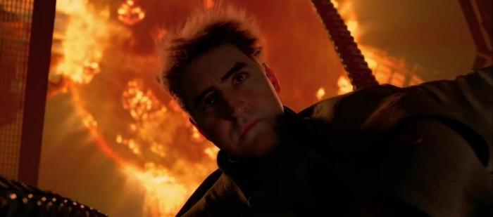 Image of Doc Ock's death in Spider-Man 2 (2004)
