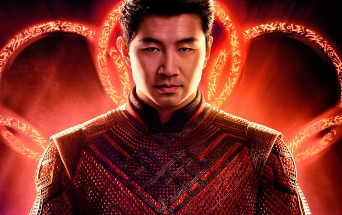 Recorte de póster oficial de Shang-Chi and the Legends of the Ten Rings (2021)