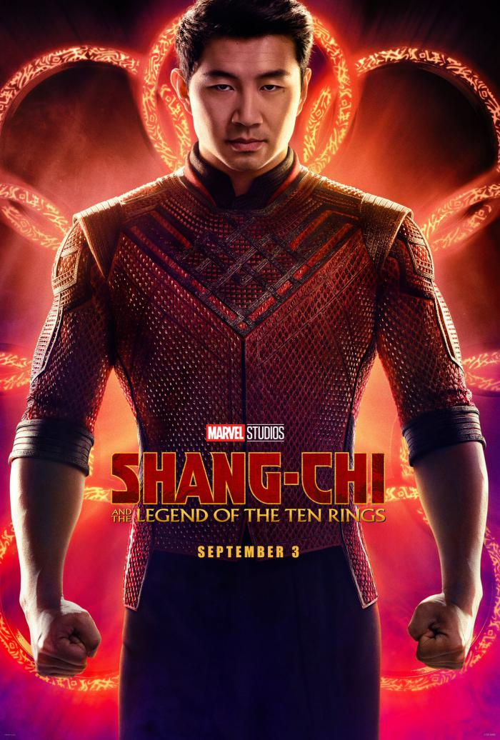 Póster oficial de Shang-Chi and the Legends of the Ten Rings (2021)