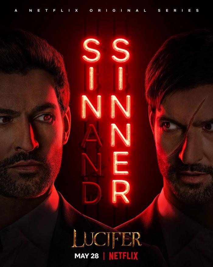 Póster de la segunda mitad de la temporada 5 de Lucifer