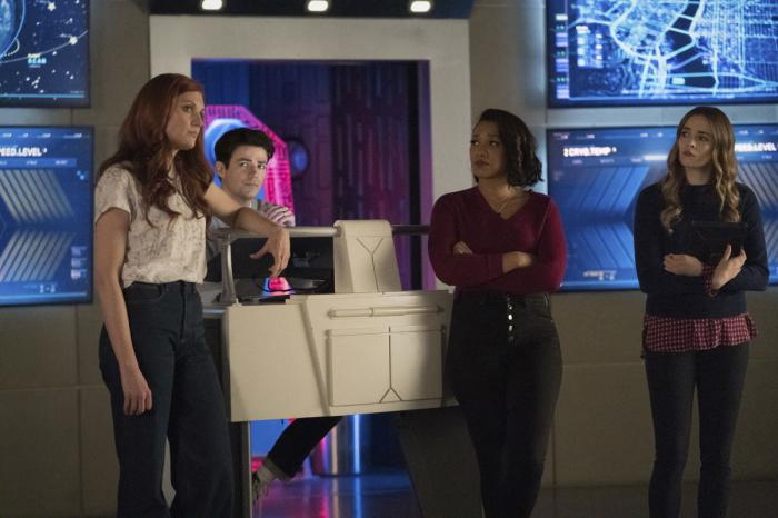 Image of The Flash 7x06: The One With the Nineties