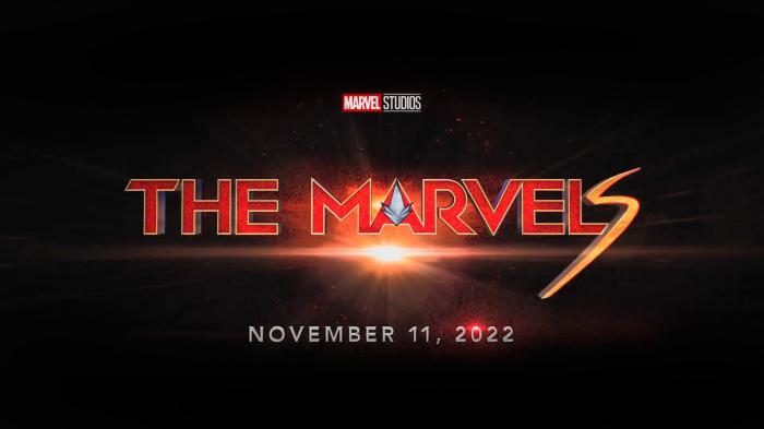 Logo oficial de The Marvels (2021)