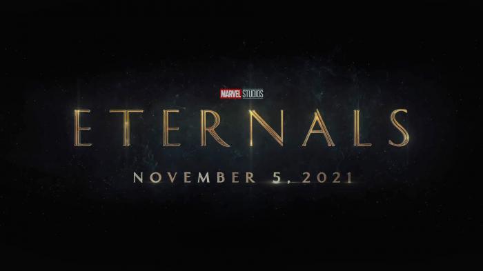 Logo oficial de Eternals (2021)