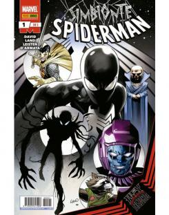 Symbiote Spider-Man King in Black 1 y 2#cover