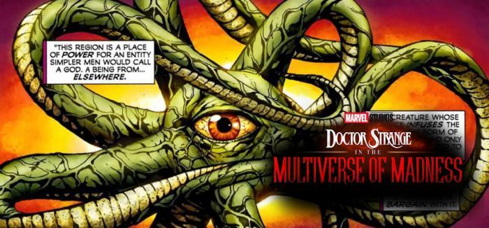 Shuma Gorath sería el villano de Doctor Strange in the Multiverse of Madness (2022)