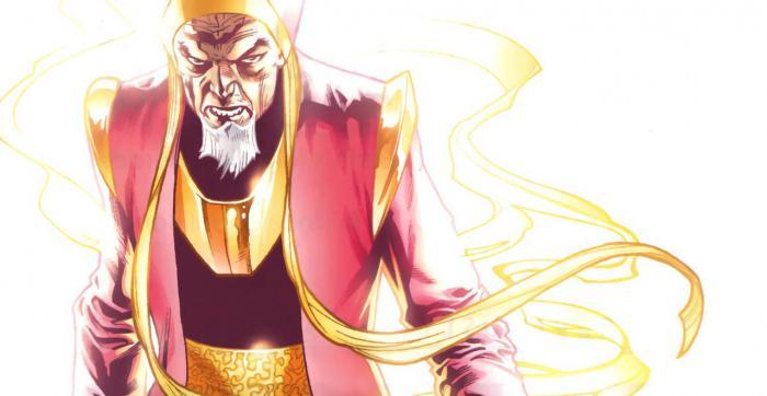 Imagen de El Anciano/The Ancient en los cómics Marvel