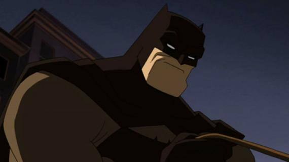 Captura del trailer de Batman: The Dark Knight Returns, Part 2 (2013)
