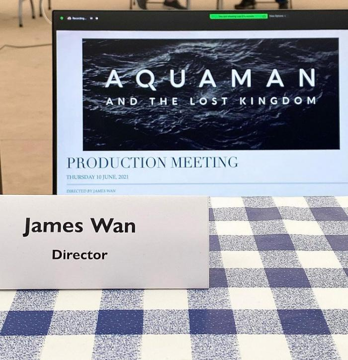 James Wan reveals the official title of Aquaman and the Lost Kingdom (2022)
