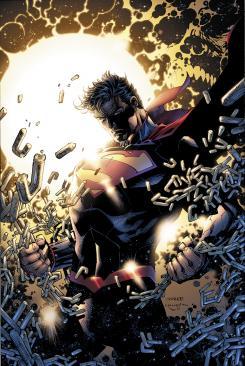 Primera imagen de la nueva colección de Superman de Jim Lee y Scott Snyder para 2013
