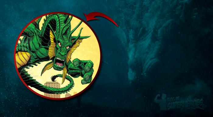 Montage of the Dragon and Fin Fang Foom