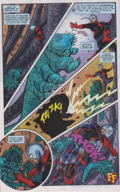 Interior del cómic Marvel Now! FF #1, (noviembre de 2012)